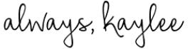 always-kaylee
