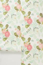 anthropologie-shabby-chic-floral-wallpaper