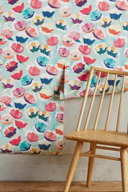 anthropologie-watercolor-whimsical-floral-wallpaper