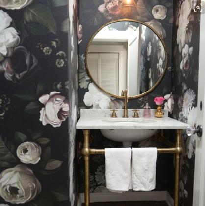 bathroom via Pinterest