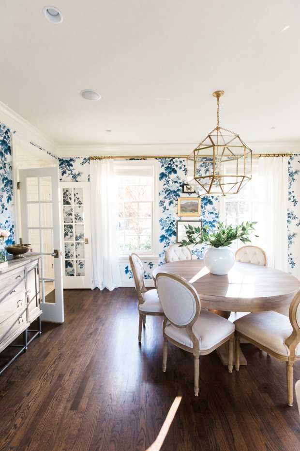 studio-mcgee-blue-floral-wallpaper