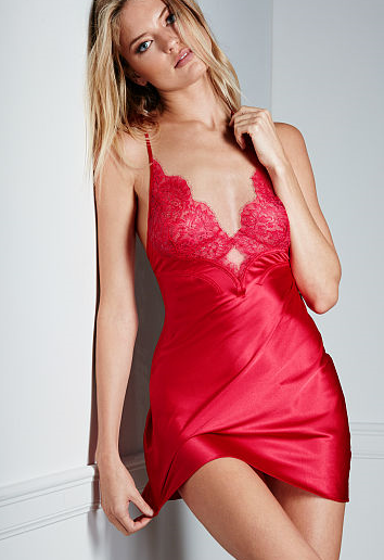 Victorias Secret-Satin and Lace Slip-Valentines Day.PNG
