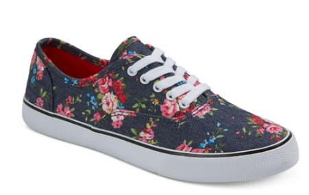 Target-Floral Tennis Shoes-Fleur Finds