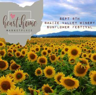 Sunflower Fest maize Valley